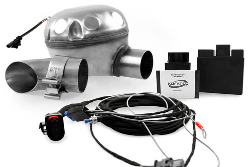 Universal complete kit Active Sound incl. Sound Booster - outside installation